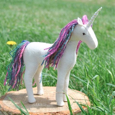 unicorn craft pattern sew your own felt horse or unicorn with this easy to