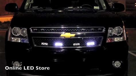 emergency vehicle grille lights led emergency vehicle strobe warning grille light