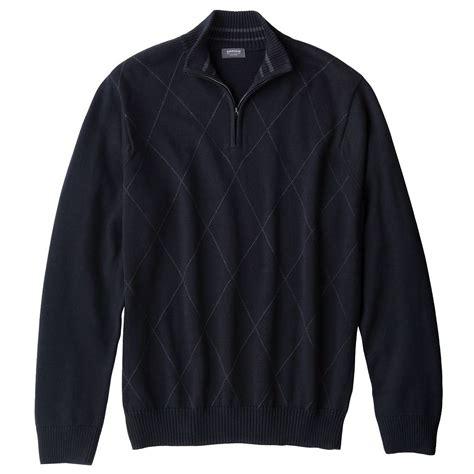Sweater Arrow 3 mens arrow brand argyle 1 4 zip sweater black small s 65 new