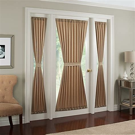 bed bath and beyond sidelight curtains midtown side light window panel bed bath beyond