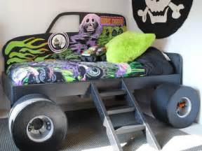 Monster Truck Bedroom Decor Custom Made Grave Digger Monster Truck Bed From Gabriel S