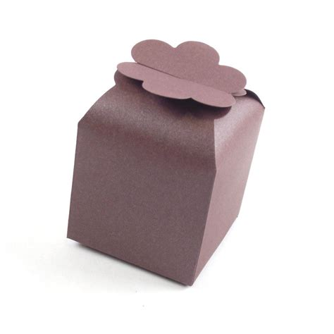 Boxdus Cup Cake Flower Uk 2830 large flower top coloured cupcake favours cup cake boxes wedding ebay