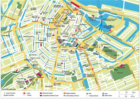 netherlands mapa map of amsterdam the netherlands
