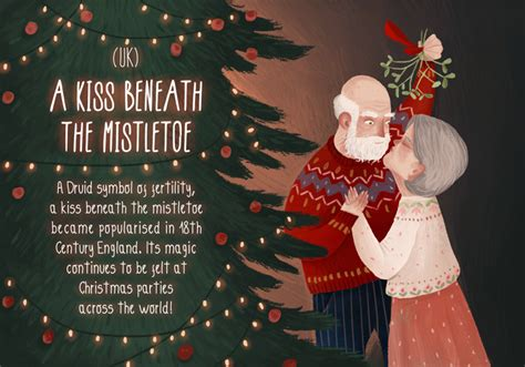 lovely illustrations  unusual christmas celebrations   world