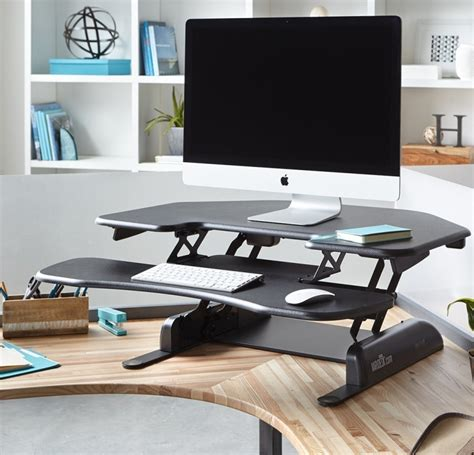 height for standing desk height adjustable standing desk for cubicles