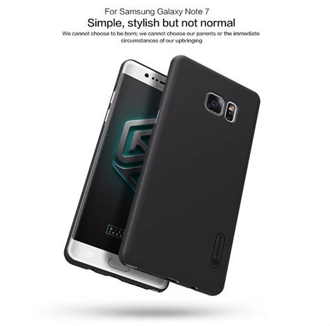 Shield Cover Design For Samsung Galaxy Note 4 White nillkin frosted shield matte anti fingerprint dustprooof back cover for samsung galaxy note