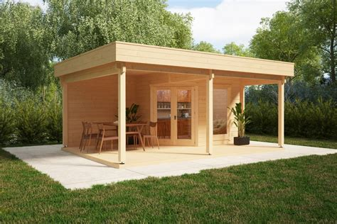 Veranda 6m2 by Garden Room With Big Terrace And Canopy Remo 3 6m2