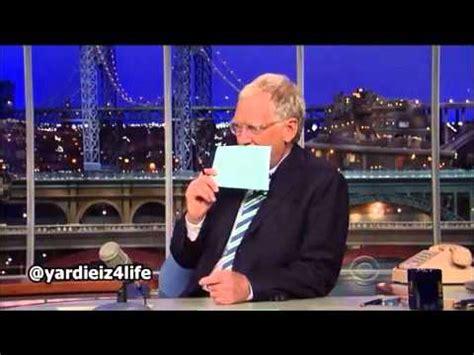 Sanjaya Does The Letterman Top Ten by Quot Aguilera Does Top 10 List On Letterman Quot