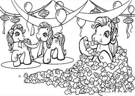 my little pony birthday party coloring pages pin by jantine zoet on my little pony kleurplaten pinterest