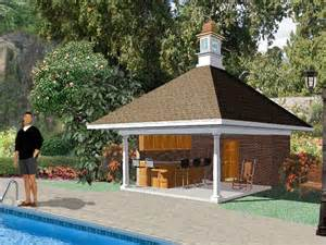 pool house design plans plan 006p 0002 garage plans and garage blue prints from