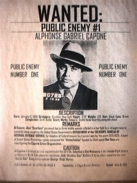 al capone s wars a complete history of organized crime in chicago during prohibition books al capone chicago gangster reward depression era poster