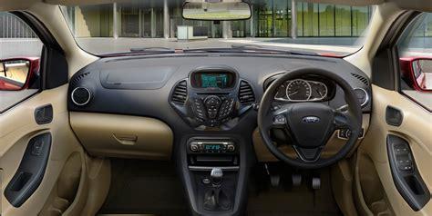 Ford Aspire Interior interior images of ford figo aspire revealed