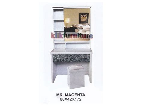 Meja Rias Big Panel harga meja rias kayu magenta cms distributor furniture