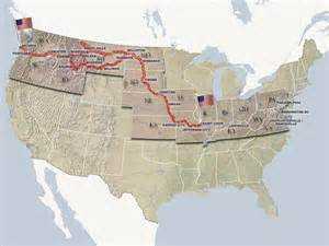 Lewis And Clark Route Map by Tbb571 Travel Bug Dog Tag Lewis And Clark Travel Bug