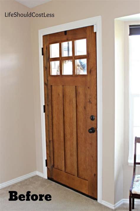 front door interior interior front door re do should cost less