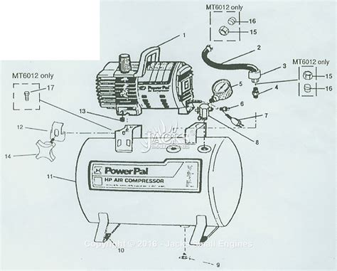 cbell hausfeld mt5019 parts diagram for air compressor parts