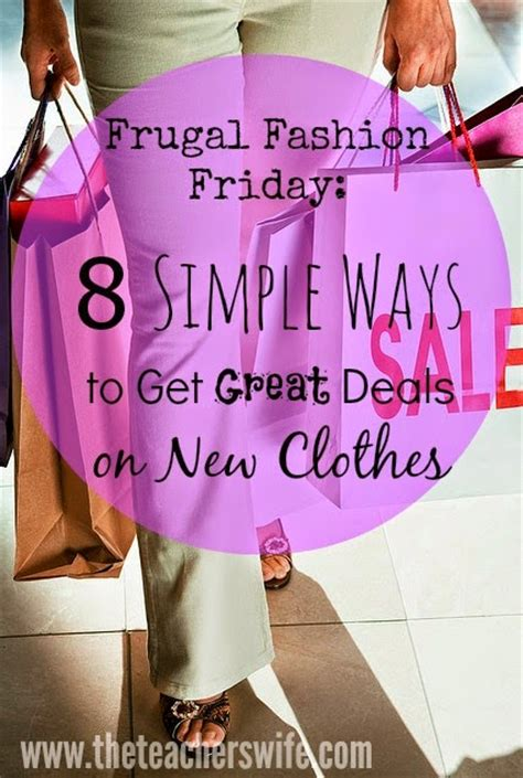 8 Terrific Ways To Be Jolly by 8 Simple Ways To Get Great Deals On New Clothes The