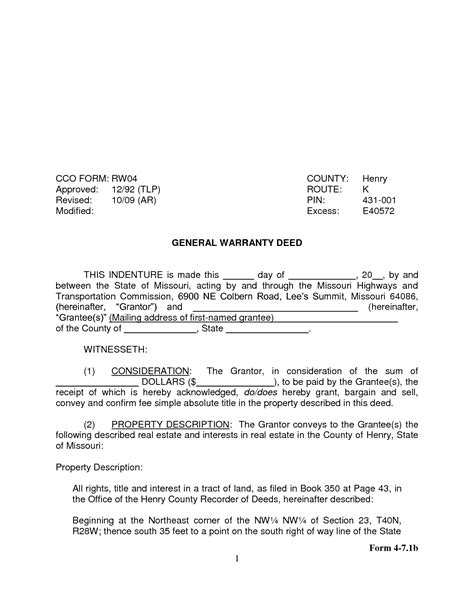 printable quit claim deed missouri best photos of missouri quit claim deed pdf quit claim