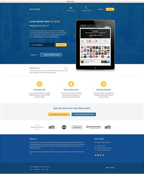 templates for pages free download download 15 free psd website design templates