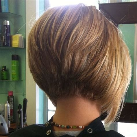 bob with stacked in back and short in front layered stacked bob haircut photos front and back yahoo