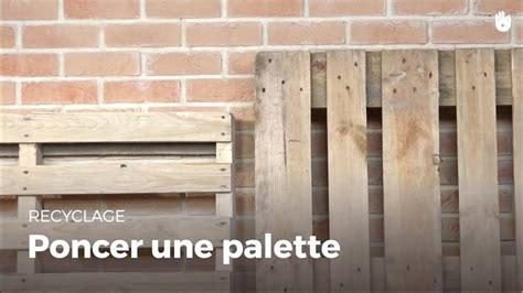 Comment Vieillir Du Bois De Palette by Poncer Une Palette
