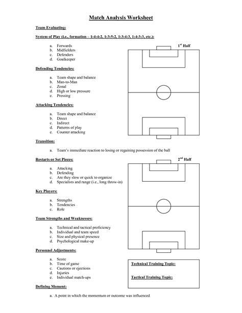 28 matching worksheet template for teachers
