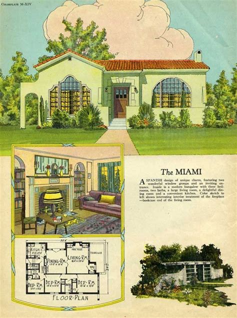 1 Bedroom Cottage Floor Plans Best 25 Spanish Bungalow Ideas On Pinterest Spanish