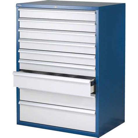 euroslide 9 drawer storage cabinets 1200mm high ese direct