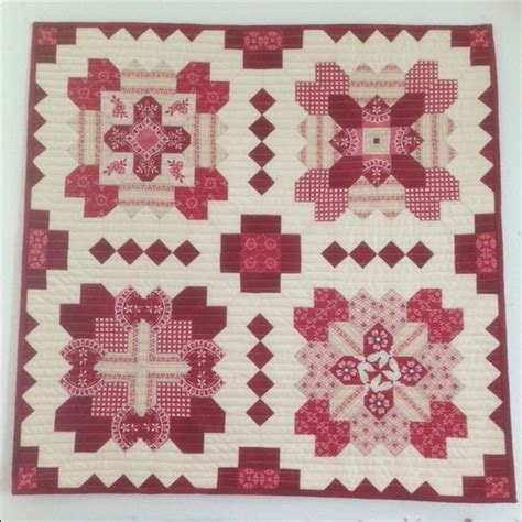 Patchwork Of The Crosses Pattern - the o jays parlour and patterns on