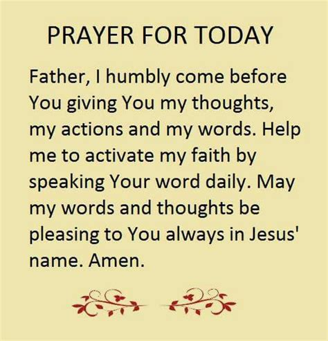 words to my best 25 prayer for today ideas on prayer for