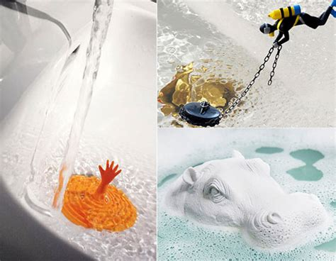 Bathtub Water Not Draining by 13 Creative And Playful Tub Plugs And Drain Stoppers