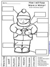 label the winter clothes 6 best images of weather temperature worksheet