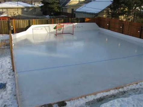 build a backyard rink 17 best images about rink snow removal on