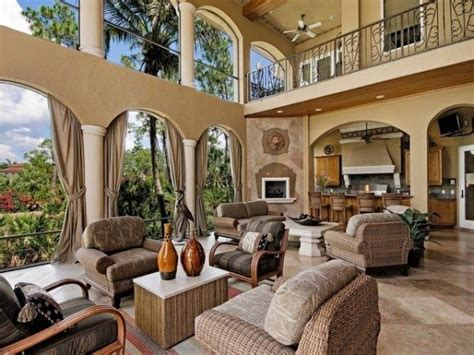 homes with outdoor living spaces luxury indoor outdoor rooms