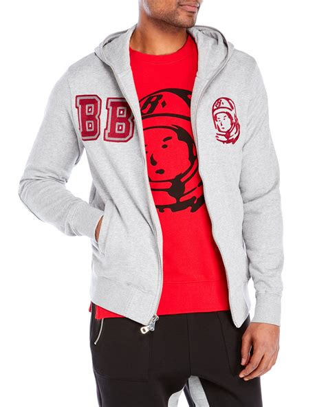 Hoodie Sweater Stusy billionaire boys club study hoodie in gray for lyst