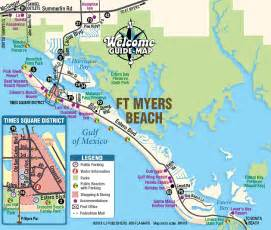 ft map southwest florida welcome guide map fort myers naples