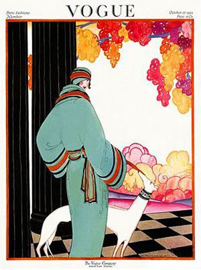 in vogue an illustrated october 1922 you ll love these illustrated vintage vogue covers livingly