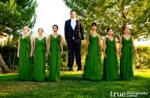 Multi designing green shades bridesmaid dresses designs