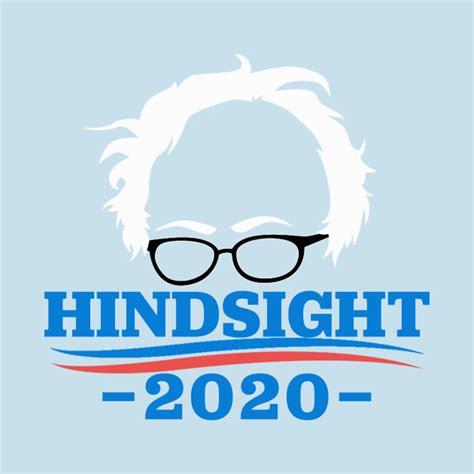 Blue Wall Stickers bernie sanders hindsight 2020 vote t shirt teepublic