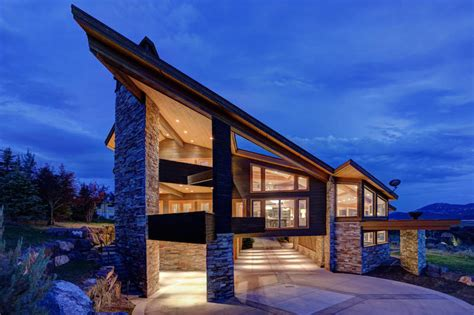 utah home design architects architecture asymmetry in the service of comfortable