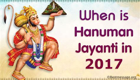 hanuman jayanti 2017 why it when is hanuman jayanti 2018 2019 and 2020 date