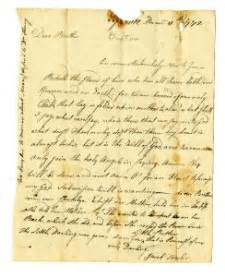 eighteenth century letter writing and american