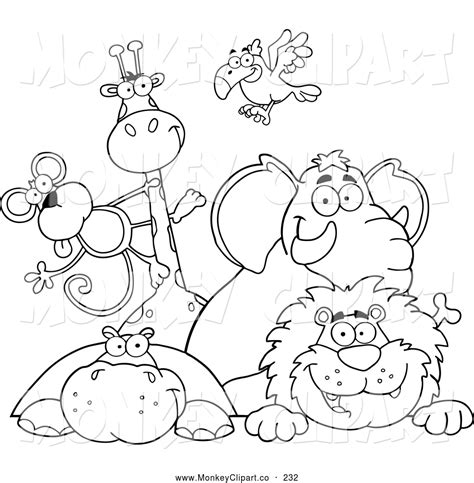 wild animals coloring pages preschool cute animal preschool clipart clipart suggest