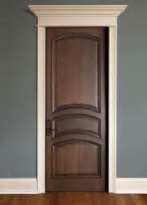 Interior Doors Images Interior Door Custom Single Solid Wood With Walnut Finish Classic Model Dbi 611a