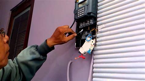 cara memasang meteran listrik prabayar