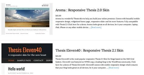 best thesis skins 11 best and free thesis skins for thesis theme