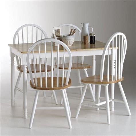 table cuisine la redoute ensemble table et 4 chaises la redoute shopping