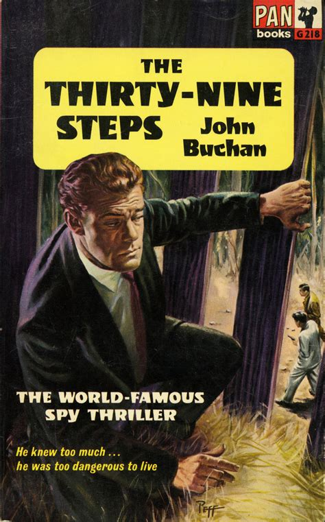 pan books the thirty nine steps book cover pan books edition