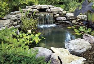 small pond ideas with waterfall pool design ideas