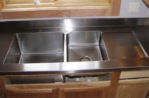 Ideas Design For Kitchen Sink With Drainboard Cast Iron Kitchen Sink With Drainboard Kitchenidease